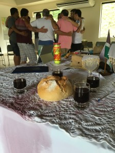 The table as a tapestry of God's story and our story