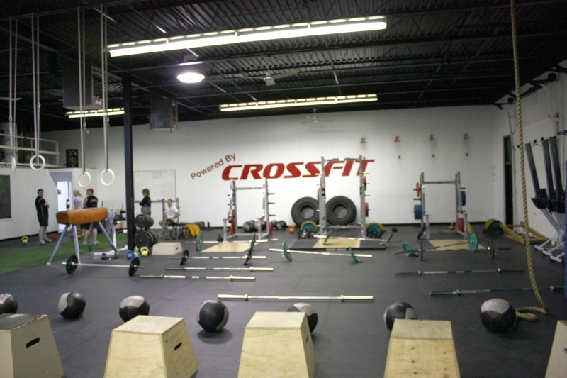 Doing CrossFit naked